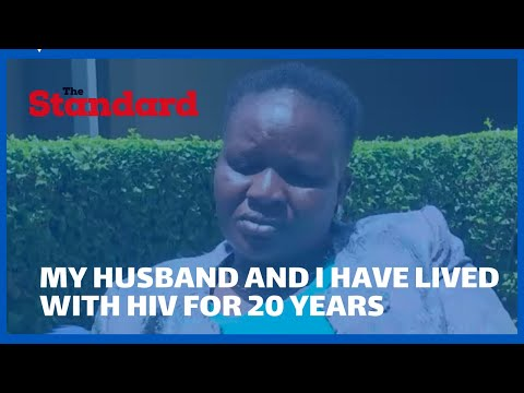 ''My husband and I have lived with HIV for 20 years'' MCA recounts