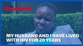 \'\'My husband and I have lived with HIV for 20 years\'\' MCA recounts