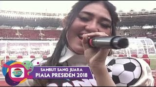 Video Via Vallen - Sayang | Piala Presiden 2018 download MP3, 3GP, MP4, WEBM, AVI, FLV Juli 2018