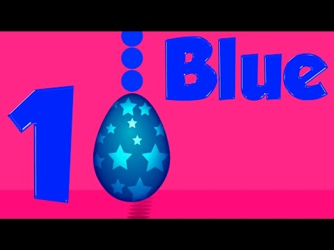Surprise Eggs | Learn Colors | Learn Numbers