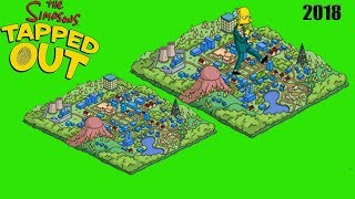 WHO SHOT MR. BURNS  2018 EVENT THE SIMPSONS TAPPED OUT SPRINGFIELD SCALE MODEL  # 3