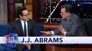 "J.J. Abrams Answers ""Star Wars"" Fan Theory Questions"