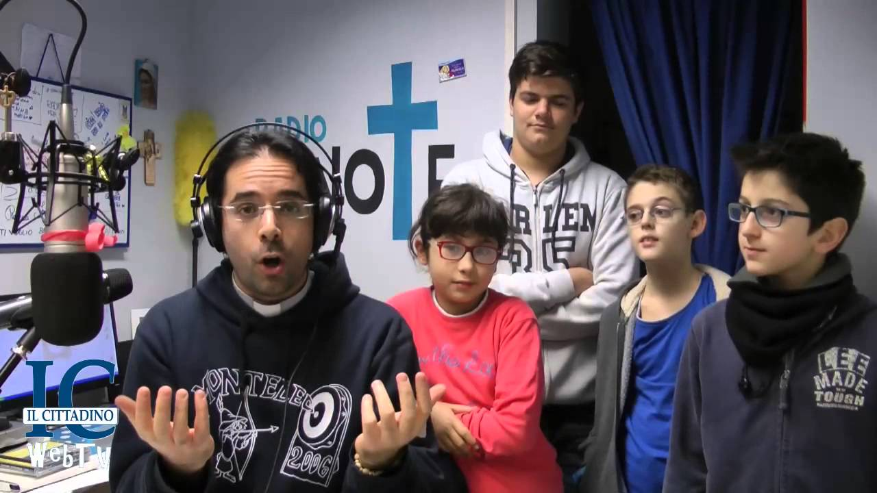 StradeDorate: Don Roberto Fiscer commenta il Vangelo per i ragazzi - IV  domenica di Avvento - YouTube