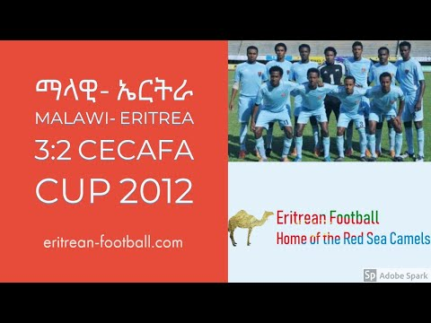 Malawi - Eritrea  3:2 (2:0) CECAFA CUP 2012