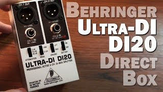 Behringer DI20 UTRA-DI Duel Direct Box Review