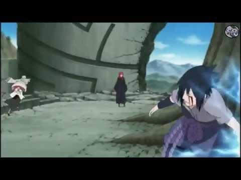 Naruto[AMV] - Sasuke Vs Danzo  Figure 09 Linkin Park