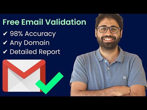 Free Online Email Validation Service | Single & Bulk Mode [H-supertools Tutorials]