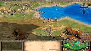 Age of Empires II - 107ª Partida Multijugador En Línea - Exe, Gena, Franco y Fede