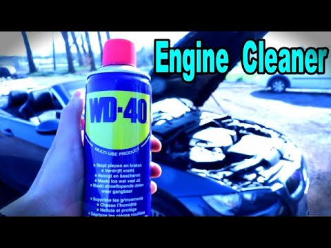 Why i Clean My Engine Bay With WD40