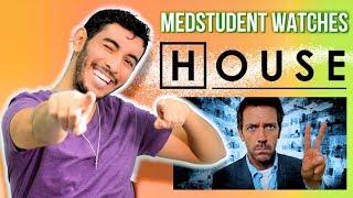 Real Medical Student Reacts to HOUSE MD | Medical Drama Review