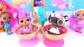 Куклы Лол Мультик! Lol Surprise с Волосами 5 серия! Видео для детей! Мультик с игрушками