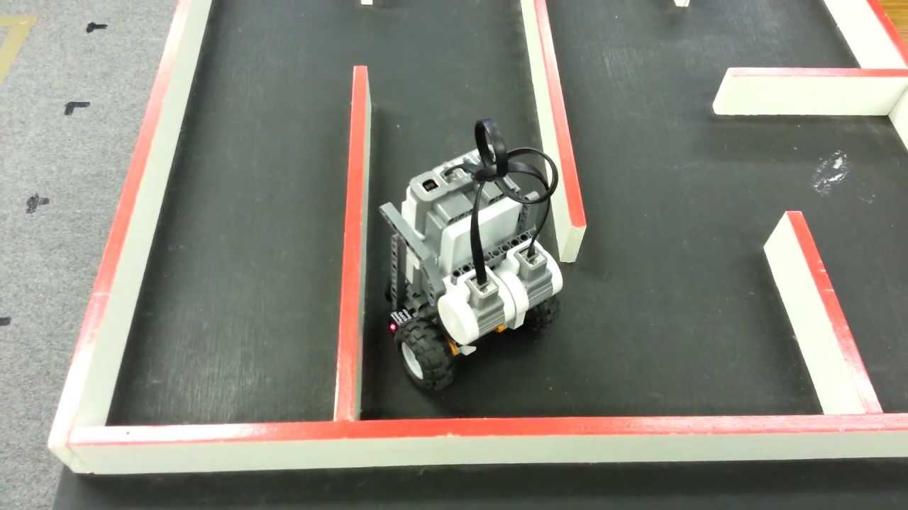 LEGO Mindstorms Maze Solver - YouTube