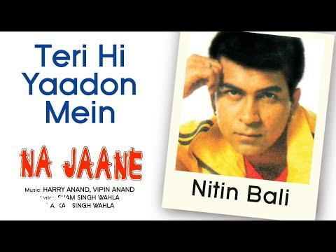 Teri Hi Yaadon Mein - Na Jaane | Nitin Bali | Official Hindi Pop Song