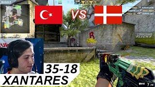 XANTARES POV 35-18 vs Denmark (World Championship 2016)