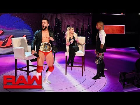 Finn Bálor accepts Lio Rush's Intercontinental Championship 'challenge': Raw, Feb. 25, 2019