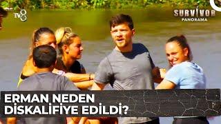 Erman, Survivor Türkiye'den Neden Diskalifiye Edildi? | Survivor Panorama 15.Bölüm