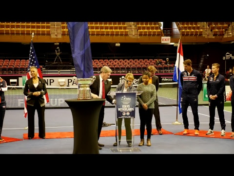 Fed Cup R1 2018: Team USA Draw Ceremony From US Cellular Center