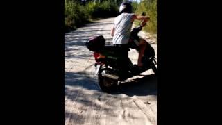 Дрфит на скутере 72 куба