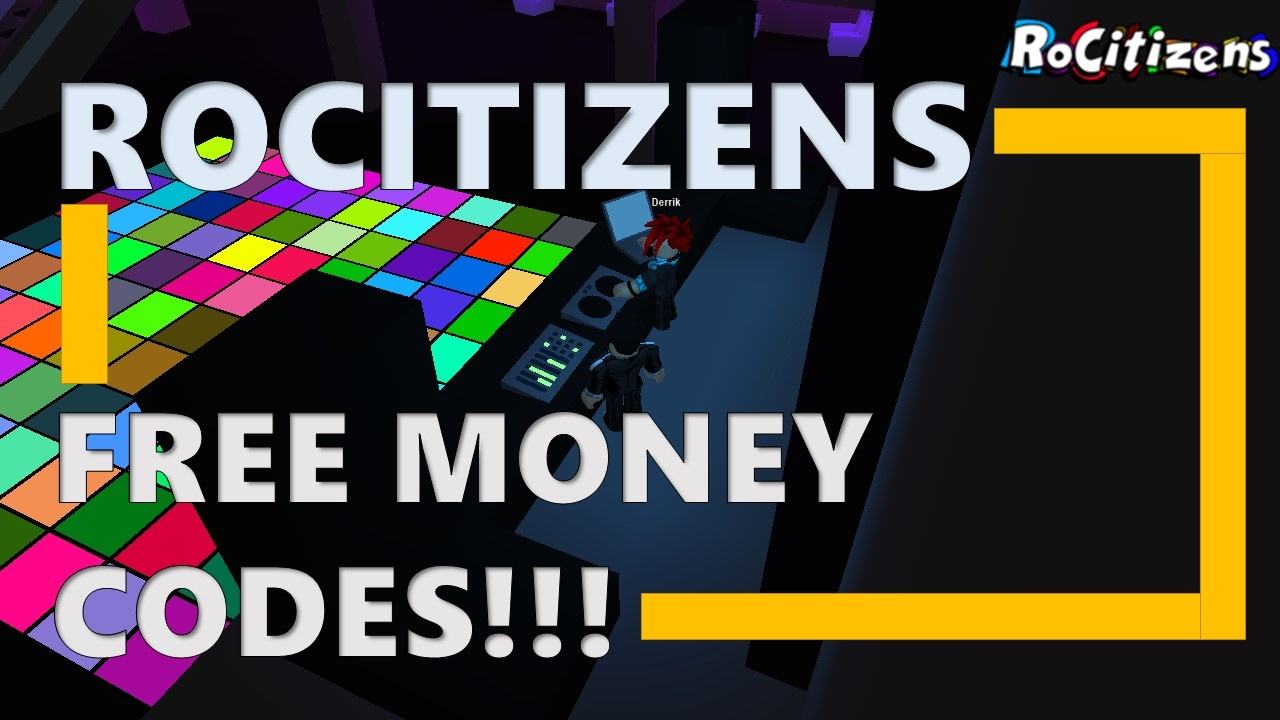 ROCITIZENS CODES (September 2018) Roblox Codes 6,269 views - tv