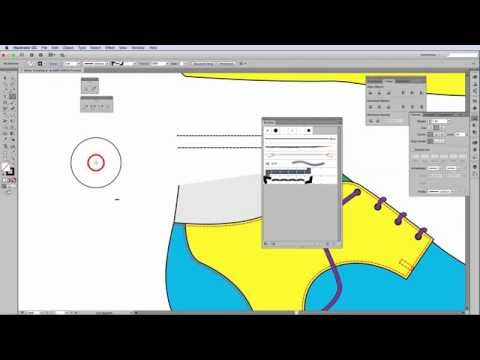 How to create a stitch brush stroke in Adobe Illustrator - 4