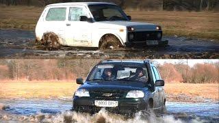 Lada 4x4 и Chevrolet Niva: Экшн за $5000(Год назад этот тест-драйв никому не был бы интересен. Но сегодня все иначе. Почему? Да потому что