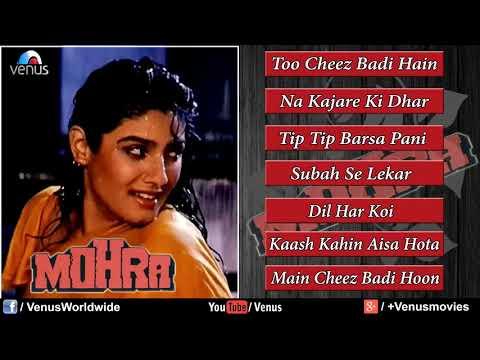 Mohra - Mohra - Songs Hindi |Jukebox| Akshay Kumar & Raveena Tandon | 90's Superhit Song