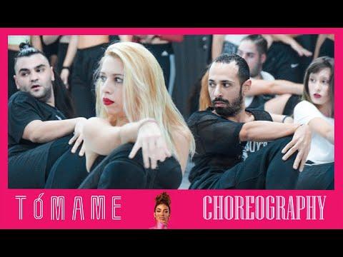 Eleni Foureira - Tomame Choreography Masterclass by Chali Jennings x House Of Drama