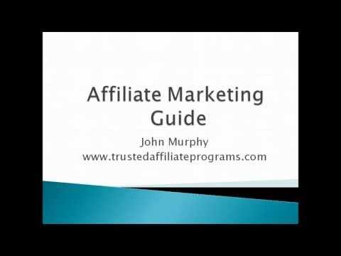 Affiliate Marketing Guide Part 1