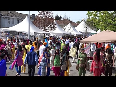 Vaisakhi  Day Parade Surrey , BC, Canada April 18 2015