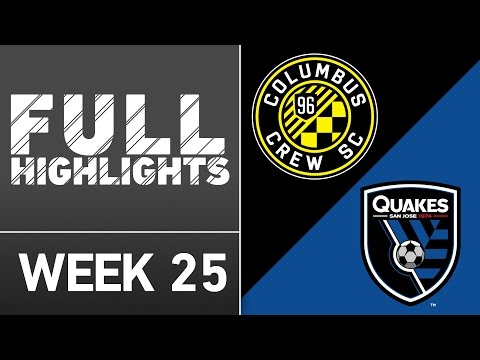 HIGHLIGHTS | Columbus Crew SC 2-0 San Jose Earthquakes