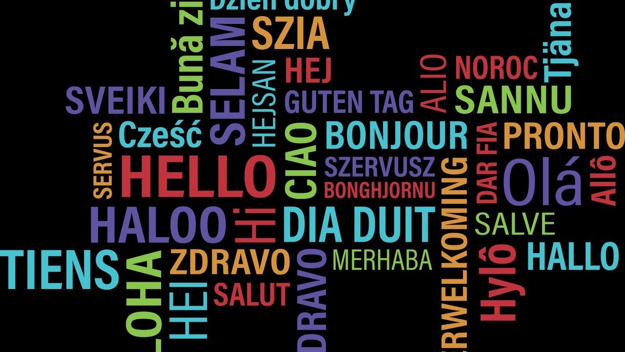 Hallohello Auf 42 Verschiedenen Sprachen Youtube