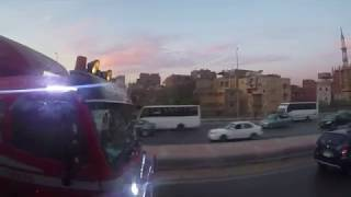 Особенности египетского дорожного движения
