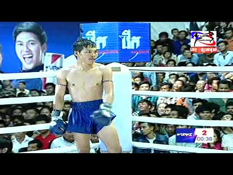 Kun Khmer, Veng Sopheak (Cam) Vs Payaklek (Thai), SEATV boxing, 24 June 2018 | Fights Zone