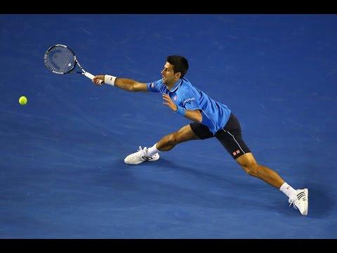 Novak Djokovic vs Gilles Muller Highlights HD Australian Open 2015