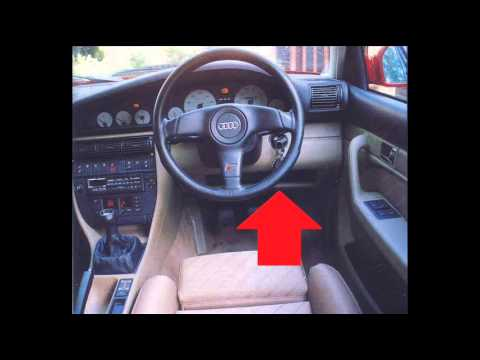 Audi A8 D2 Diagnostic Port Location Video Youtube