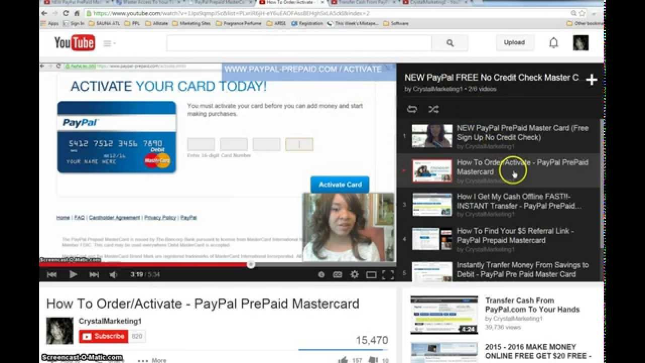 Get Tax Refund FASTER w/Paypal Prepaid Mastercard