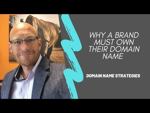 What is the upside to owning your brand domain name?