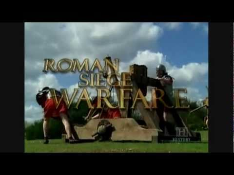 The Roman War Machine -Episode 3:'Roman Siege Warfare'-Part 1/3