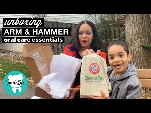 Unboxing Arm & Hammer Oral Care