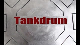 Tankdrum #5 -  17 note double-side in C Natural Minor