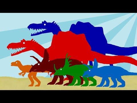 Динозавры Мультики - Веселые Динозаврики - Часть 1