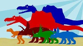 Мультики про Динозавров для детей - Веселые Динозаврики - Часть 1