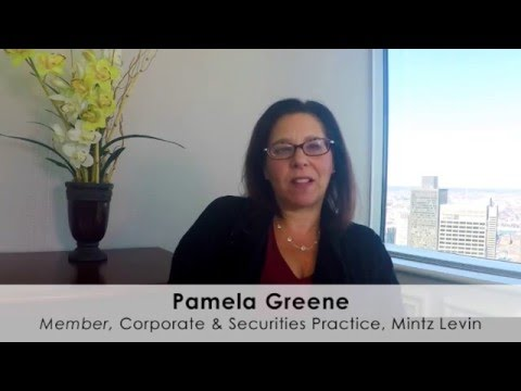 Regulation A+ - Pamela Greene, Mintz Levin