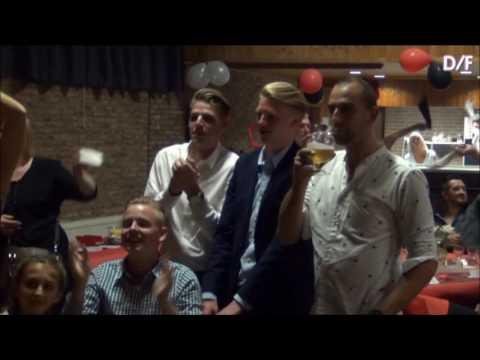 bruidstaart op muziek van Les Lacs du Connemara