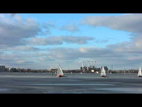 2016 DN North American Silver Fleet finishing lap