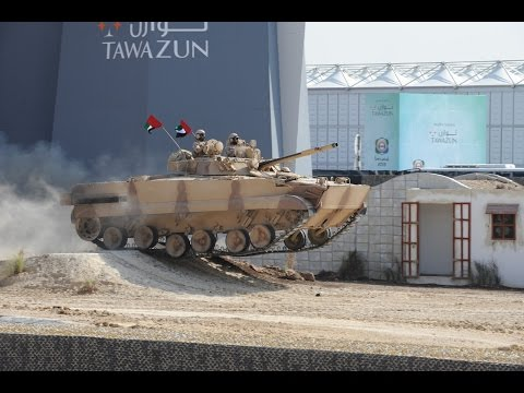 IDEX 2017 Live Demonstration - Abu Dhabi UAE