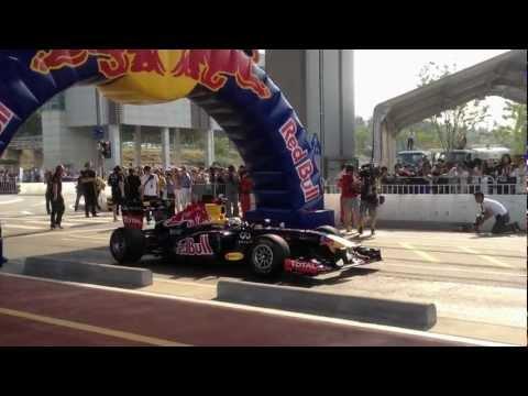 RedBull Racing Team Show Run Seoul
