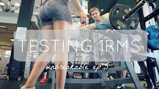 A REALLY MESSY VLOG & TESTING 1RMS | UNBREAKABLE Ep.5 | StrawberryLifts