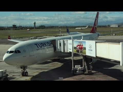 Turkish Airlines Business Class A330  - A Culinary Journey