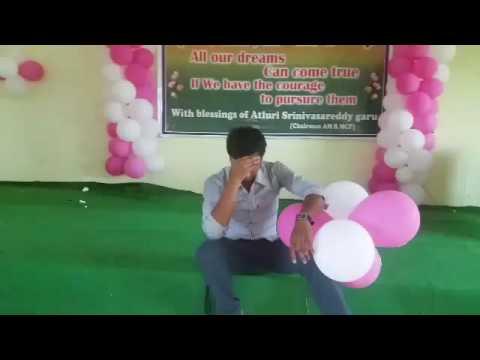 dance performence by ashok...palepu.....A.M.Reddy college of pharmacy...